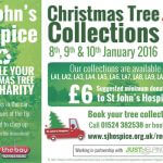 Support St Johns Hospice – Recycle your Christmas Tree