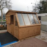 NEW TO DISPLAY – super practical Combi-Potting shed