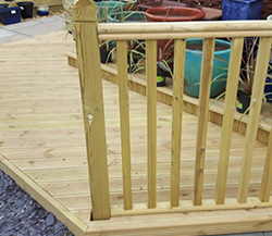 Decking, Sleepers & Timber Products
