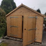 The ideal garage for a conservation area at Settle in the Yorkshire Dales