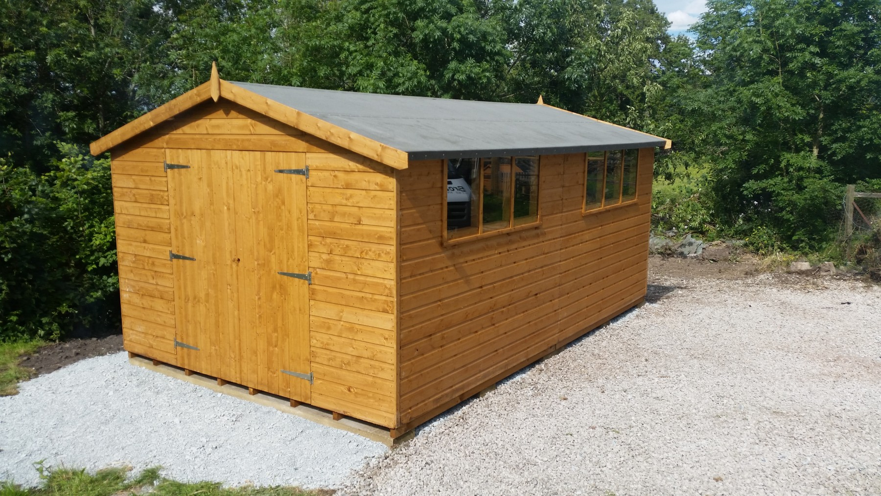 Heavy Duty Shed Workshop Garden Amp Potting Sheds Sheds