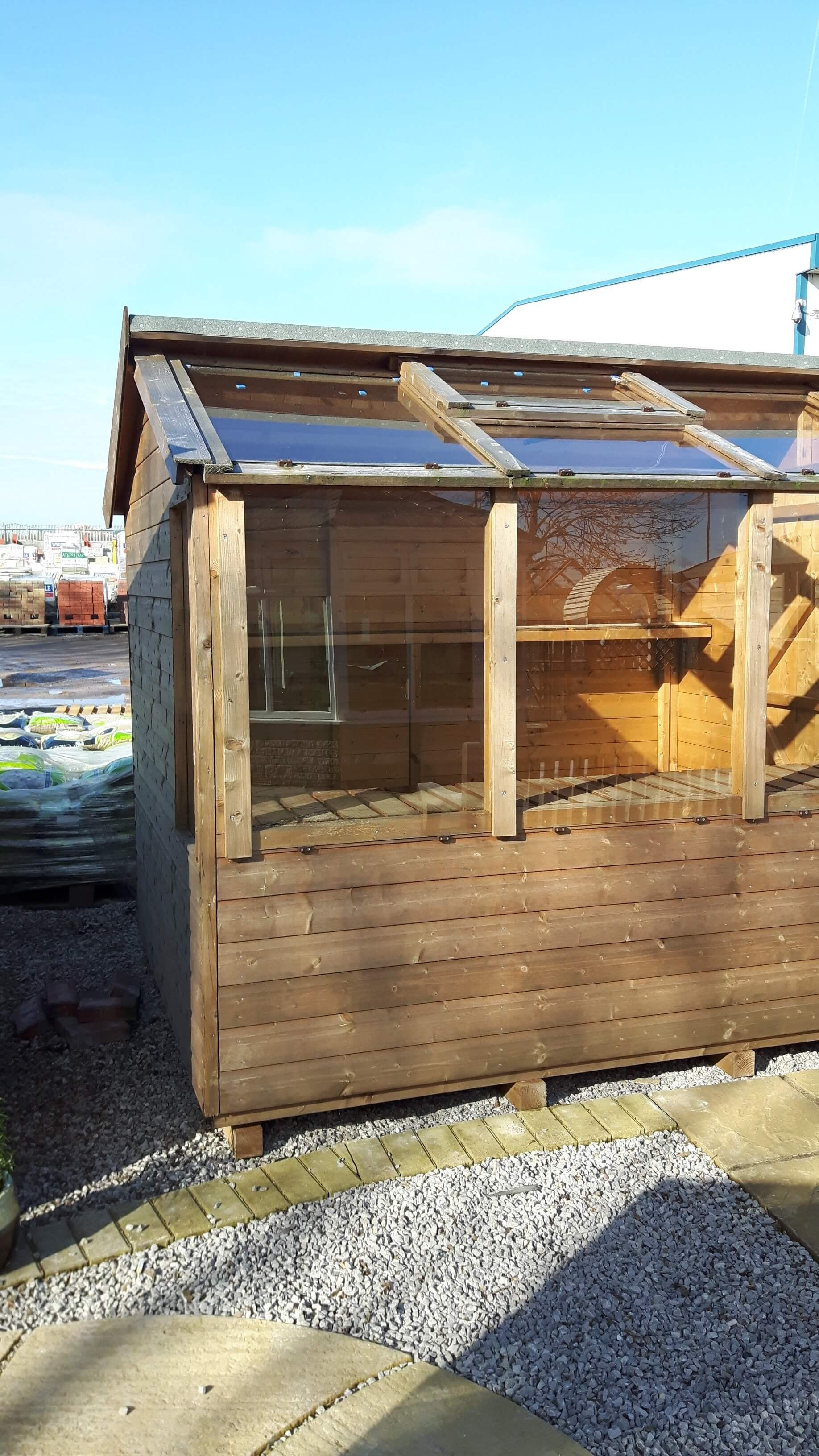 Shed / Greenhouse Combi